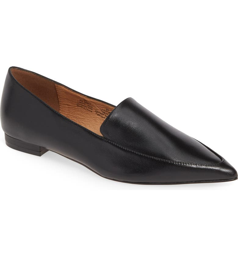 HALOGEN<SUP>®</SUP> Kendra Pointy Toe Loafer, Main, color, 001