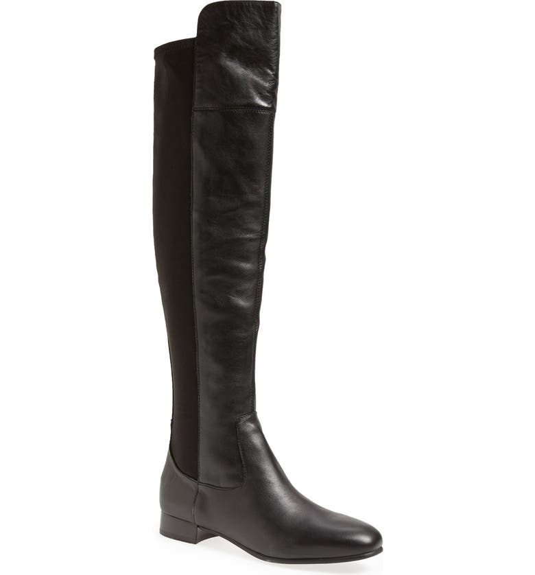 LOUISE ET CIE 'Andora' Over the Knee Boot, Main, color, BLACK