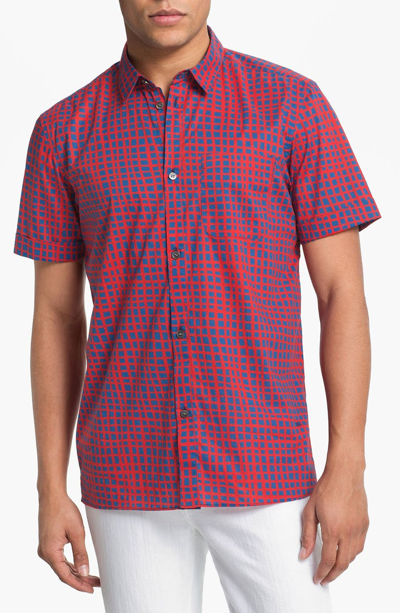 MARC BY MARC JACOBS 'Andie' Woven Shirt, Main, color, 461