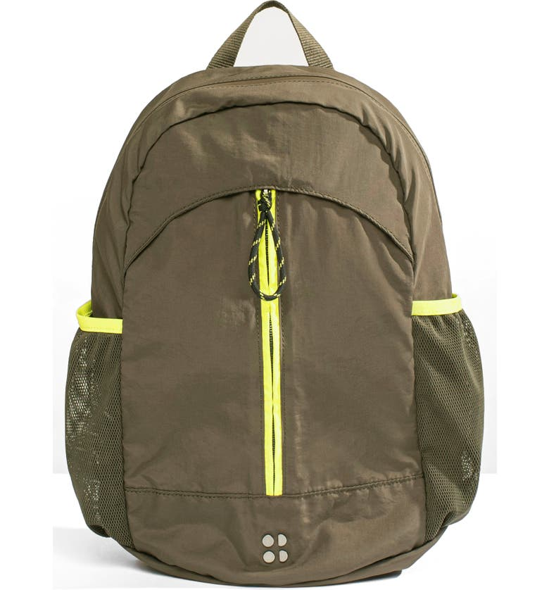 SWEATY BETTY Packaway Hiking Backpack, Main, color, DARK FOREST GREEN