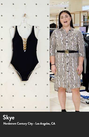 Let's Get Knotty One-Piece Swimsuit, sales video thumbnail
