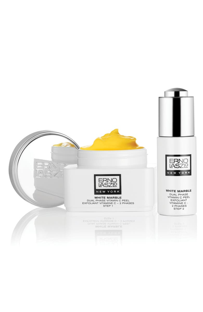 ERNO LASZLO White Marble Dual Phase Vitamin C Peel Exfoliator, Main, color, 000