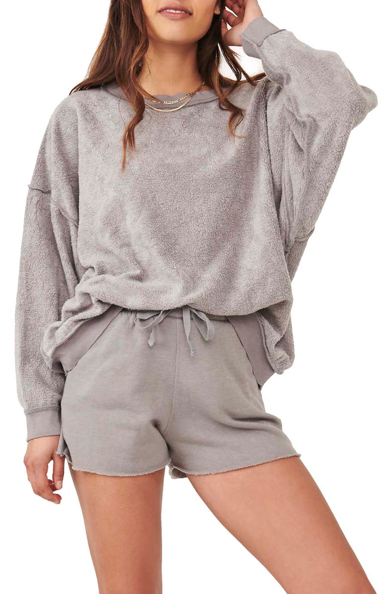 FREE PEOPLE FP Movement Kelly Two Piece Set, Main, color, GREY