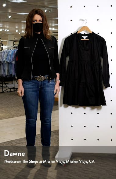 These Days Long Sleeve Tiered Minidress, sales video thumbnail