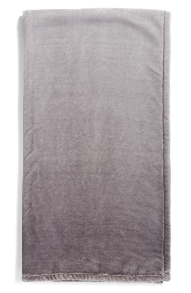 NORDSTROM at Home Print Plush Throw Blanket, Main, color, 030