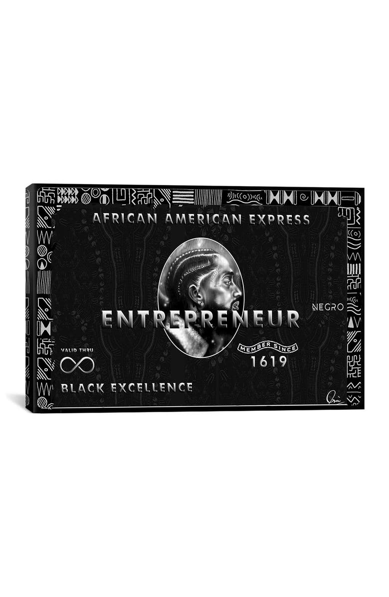 ICANVAS African American Express by Crixtover Edwin, Main, color, MULTI
