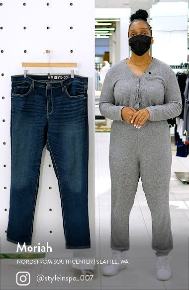 Slim-Straight Fit Performance Stretch Jeans, sales video thumbnail