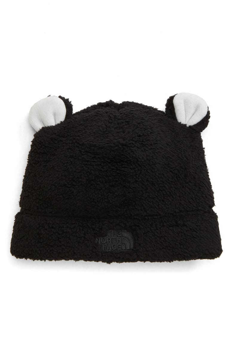 THE NORTH FACE Baby Bear Faux Fur Beanie, Main, color, 001