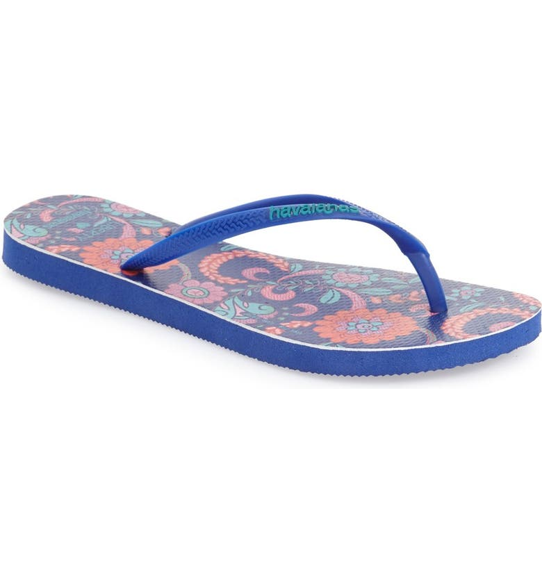 HAVAIANAS 'Slim Liberty Lioncera' Flip Flop, Main, color, 420