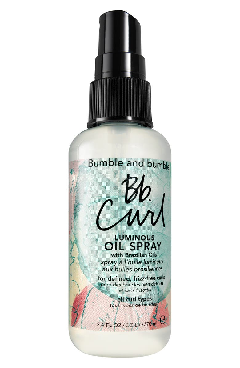 BUMBLE AND BUMBLE. Curl Luminous Oil Spray, Main, color, 000