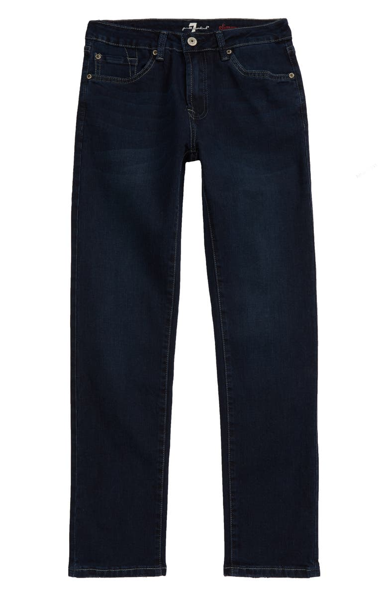 7 FOR ALL MANKIND<SUP>®</SUP> Slimmy Stretch Denim Jeans, Main, color, 408