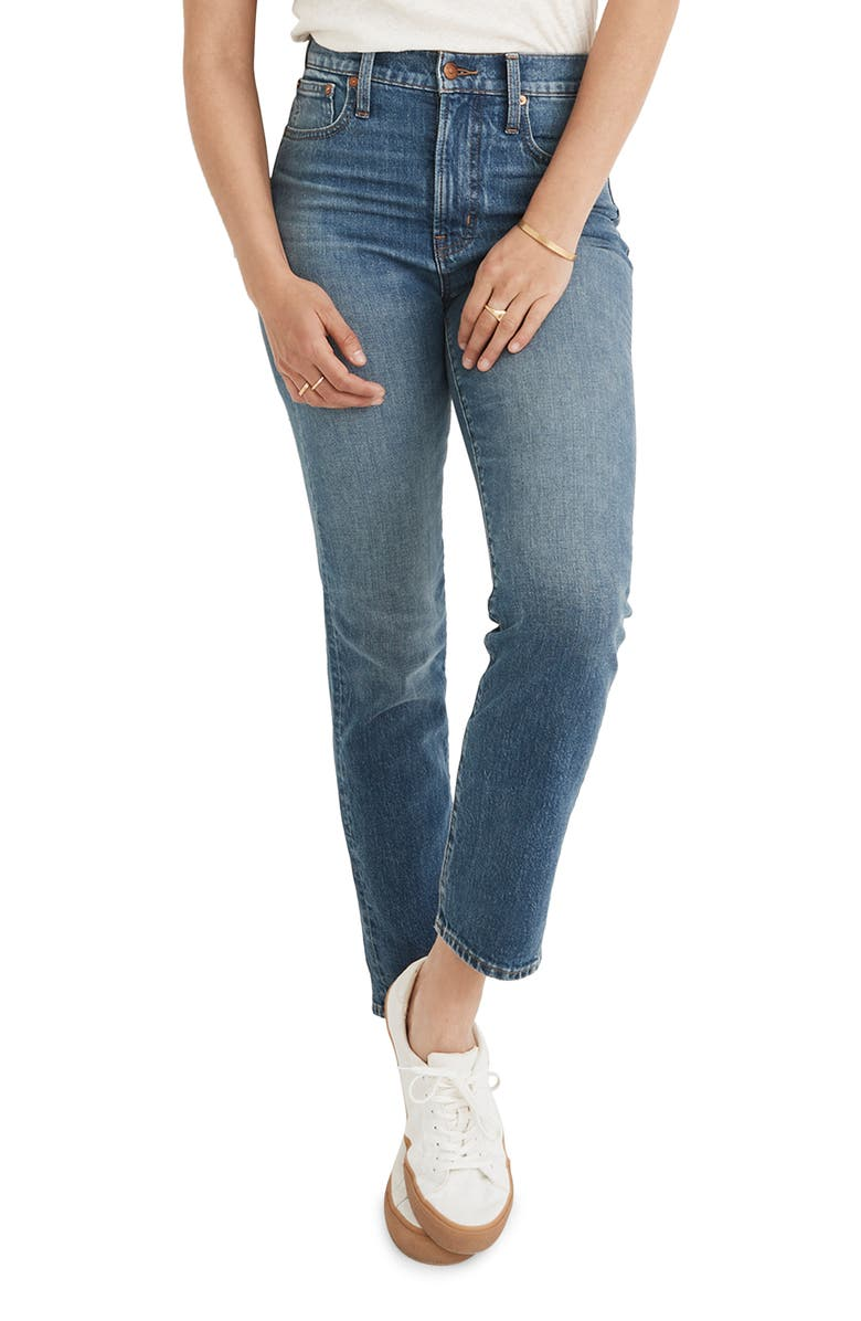 MADEWELL The Perfect Vintage Jeans, Main, color, BARNWELL WASH