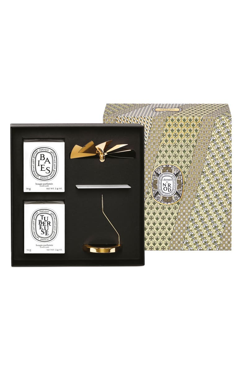 DIPTYQUE Carousel & Candle Set, Main, color, 000