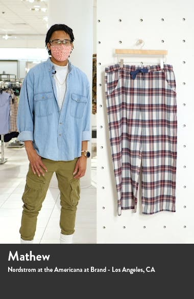 Flannel Tie Waist Pants, sales video thumbnail