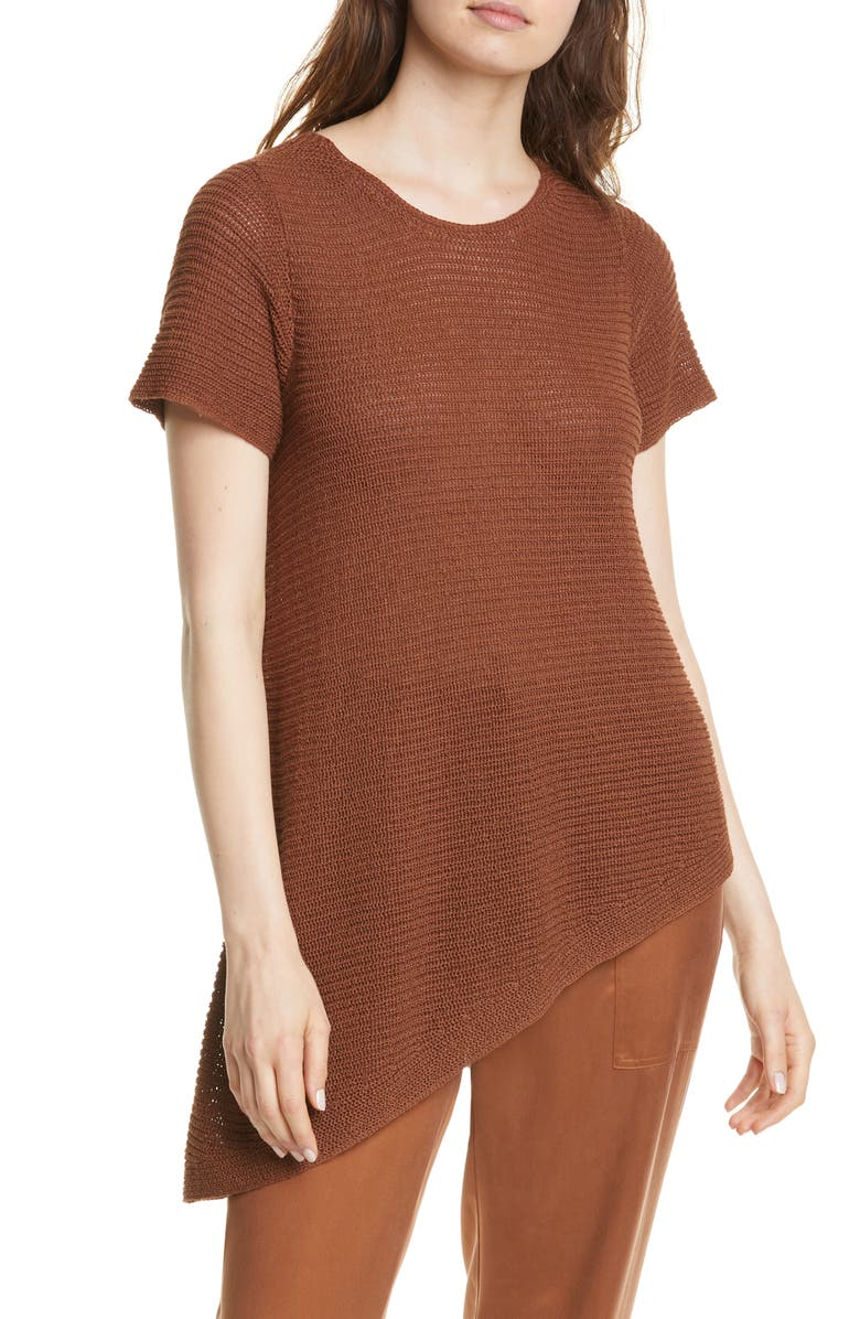 EILEEN FISHER Asymmetrical Tunic, Main, color, 200