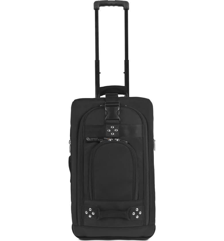 CLUB GLOVE <sup>®</sup> 'TRS Ballistic' Wheeled Carry-On, Main, color, 001