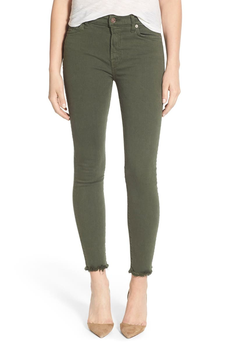 7 FOR ALL MANKIND<SUP>®</SUP> 'Josephina' Distressed Boyfriend Jeans, Main, color, 313