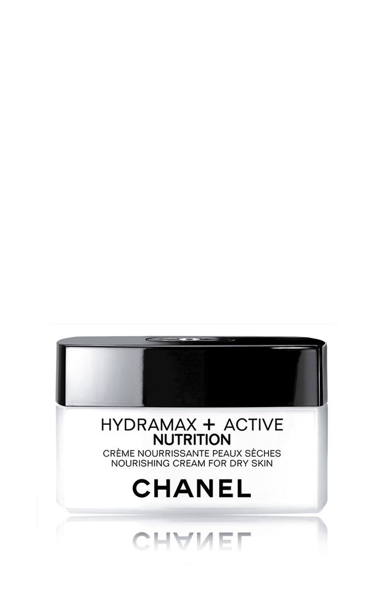 CHANEL HYDRAMAX + ACTIVE <br />Nourishing Cream for Dry Skin, Main, color, 000