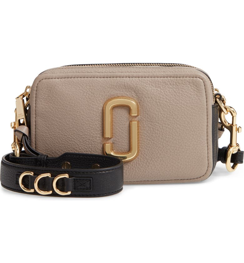 THE MARC JACOBS The Softshot 21 Crossbody Bag, Main, color, CEMENT MULTI