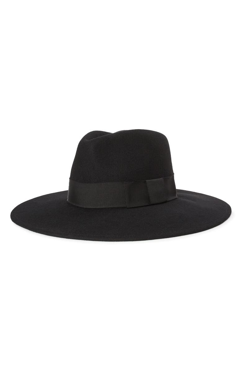 BRIXTON Joanna Felted Wool Hat, Main, color, 001