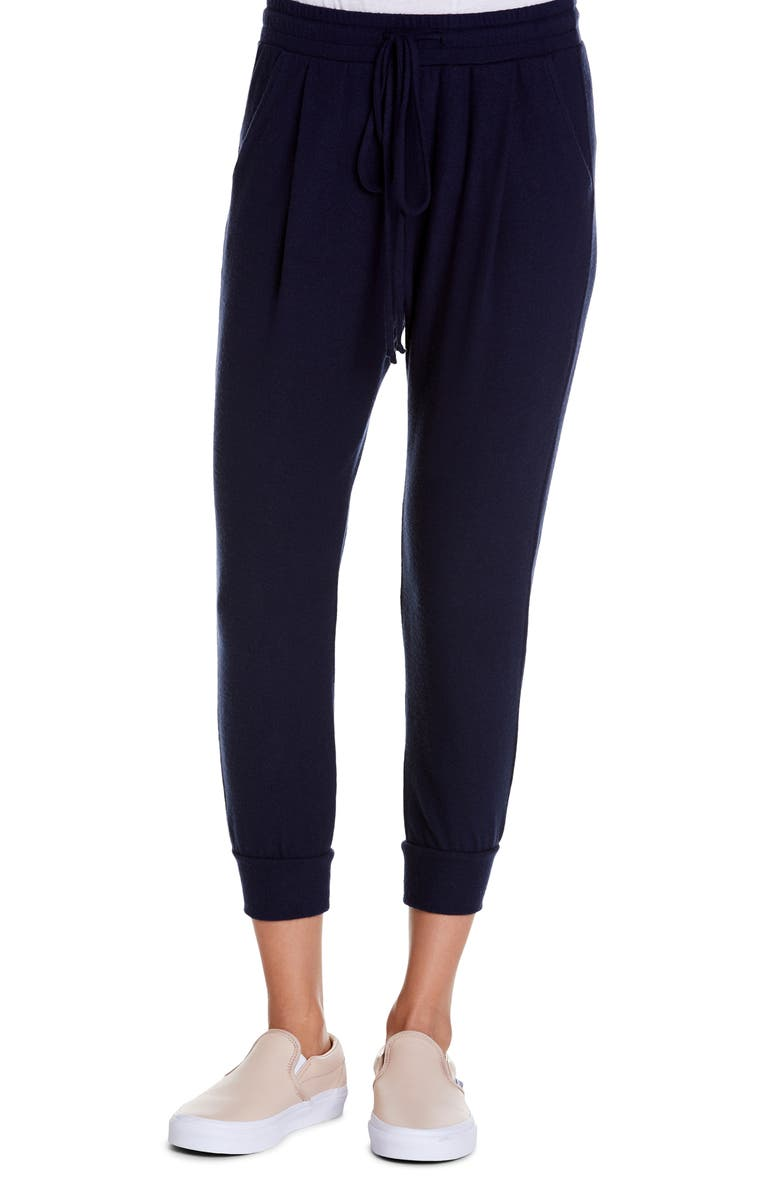 MICHAEL STARS Jenna Cropped Joggers, Main, color, ADMIRAL