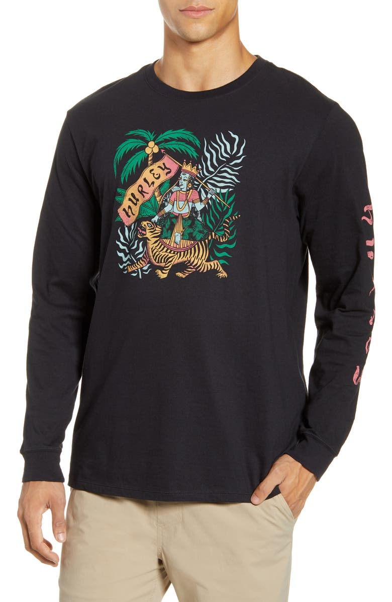 HURLEY Expedition Long Sleeve T-Shirt, Main, color, 010