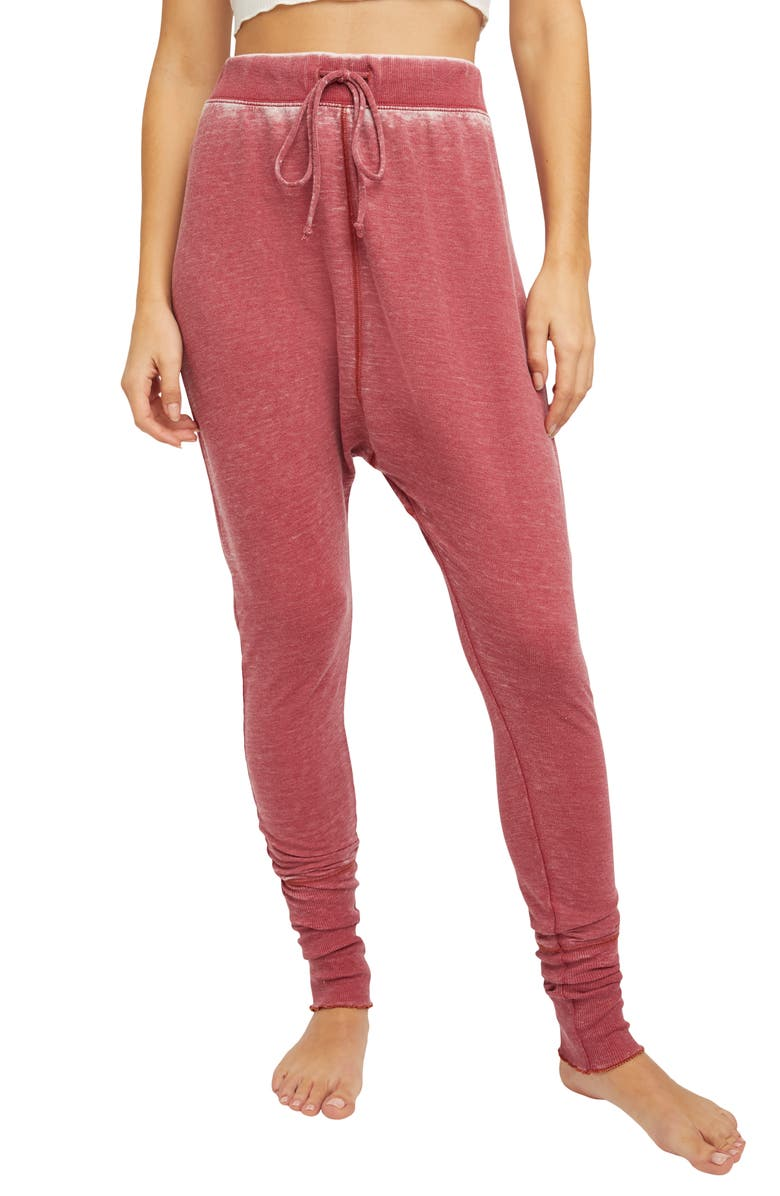 FREE PEOPLE Cozy All Day Harem Leggings, Main, color, WINDING ROADS