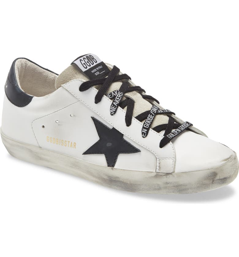 GOLDEN GOOSE Super-Star Low Top Sneaker, Main, color, WHITE/ BLACK/ ICE