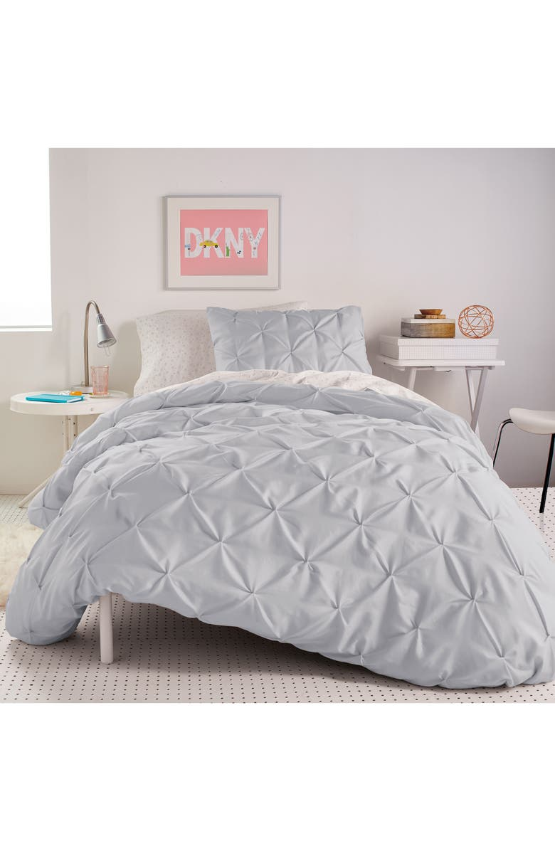 DKNY Duvet & Sham Set, Main, color, 020
