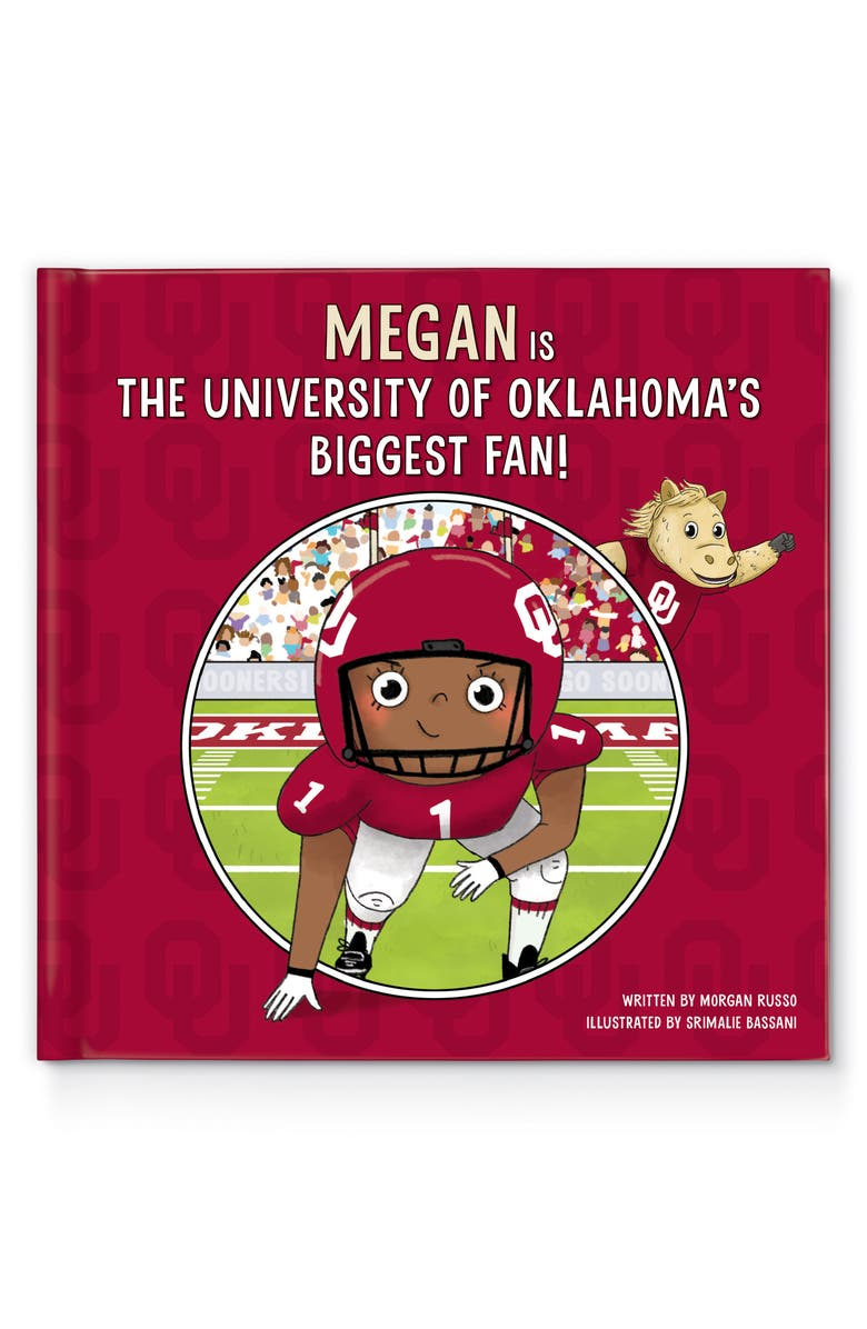 I SEE ME! 'University of Oklahoma' Personalized Storybook, Main, color, MULTI COLOR