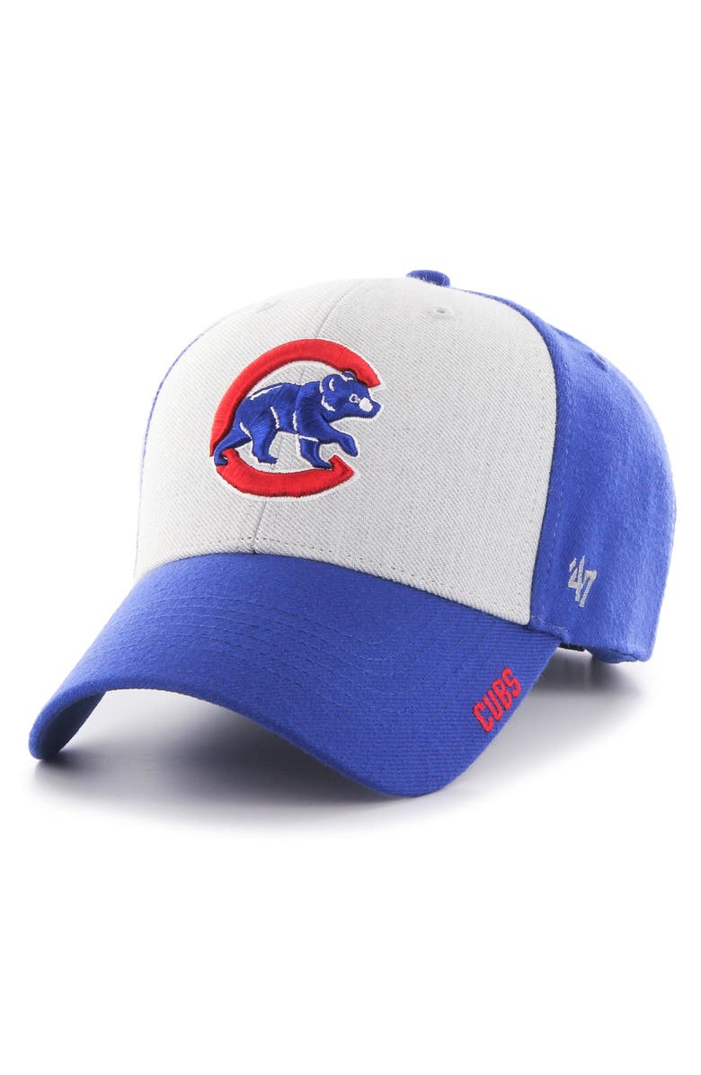 '47 Chicago Cubs Ice Clean Up Baseball Cap, Main, color, 400