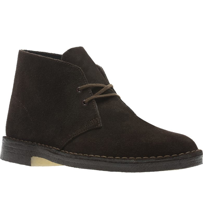 CLARKS<SUP>®</SUP> Desert Chukka Boot, Main, color, BROWN/ BROWN SUEDE