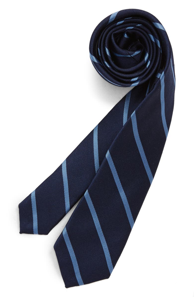NORDSTROM Pedro Stripe Silk Tie, Main, color, 410