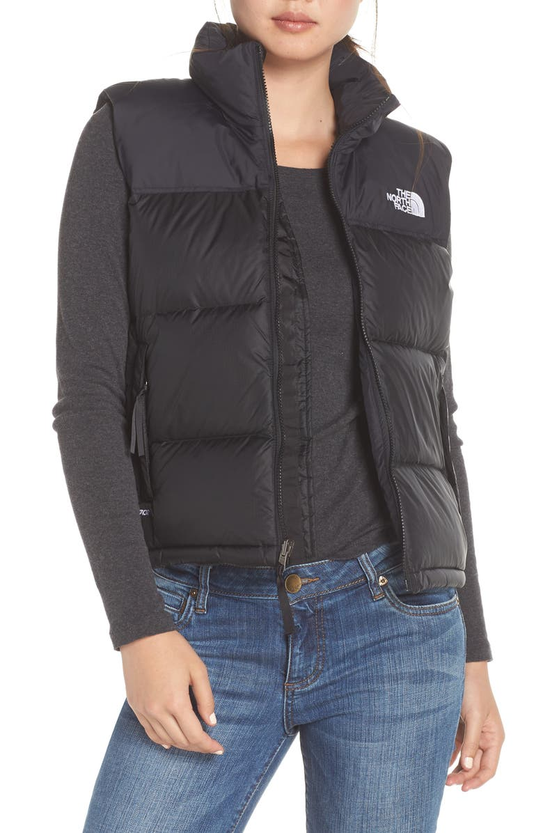 THE NORTH FACE Nuptse<sup>®</sup> 1996 Packable 700-Fill Power Down Vest, Main, color, TNF BLACK