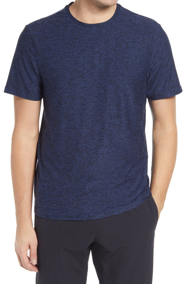 OUTDOOR VOICES Men's All Day T-Shirt, Main, color, NAVY