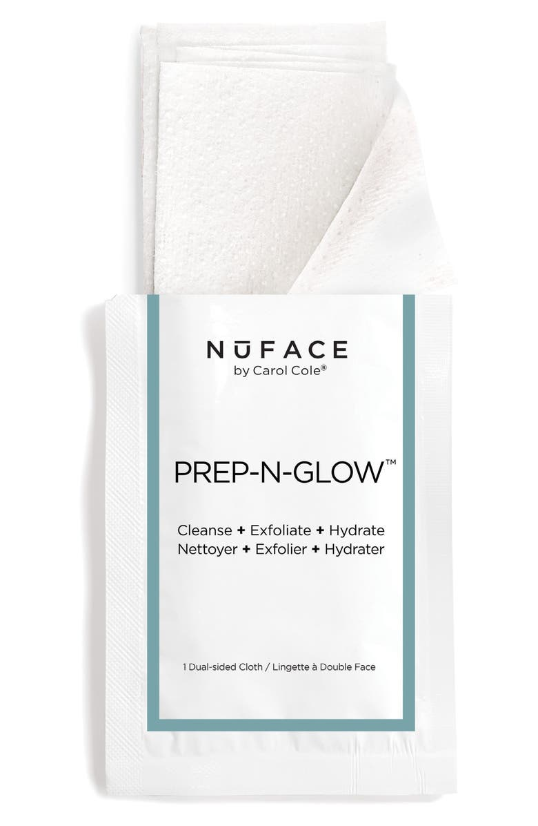 NUFACE<SUP>®</SUP> Prep-N-Glow Wipes, Main, color, No Color
