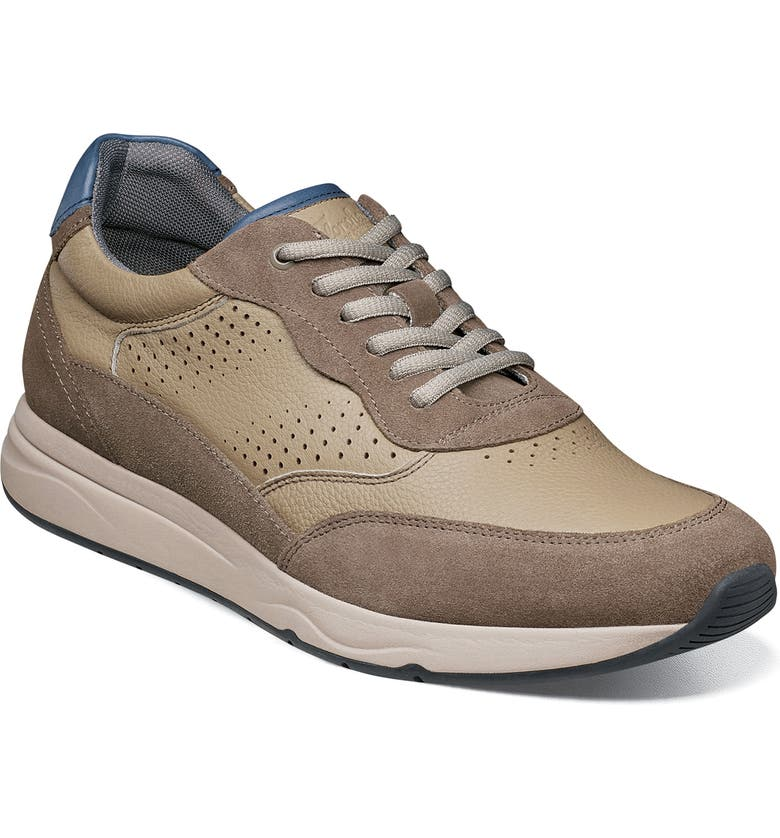 FLORSHEIM Formula Lace-Up Sneaker, Main, color, STONE
