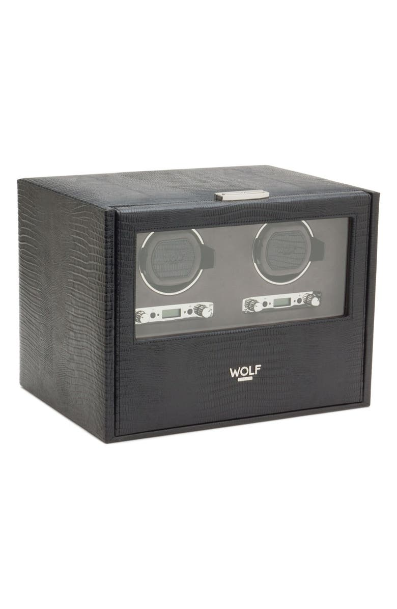 WOLF Blake Double Watch Winder & Case, Main, color, 001