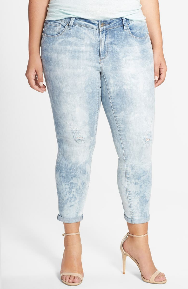 JESSICA SIMPSON 'Forever' Crop Skinny Jeans, Main, color, 403