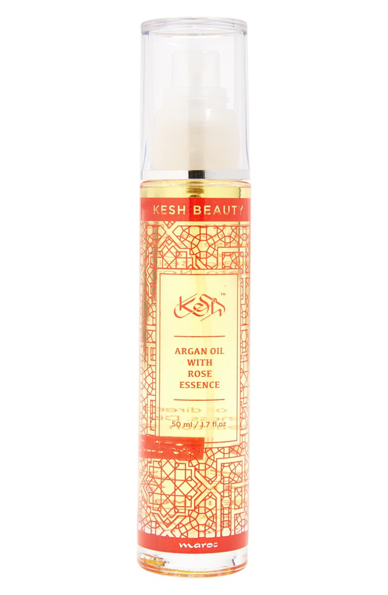 KESH Argan Oil with Rose Essence, Main, color, 650