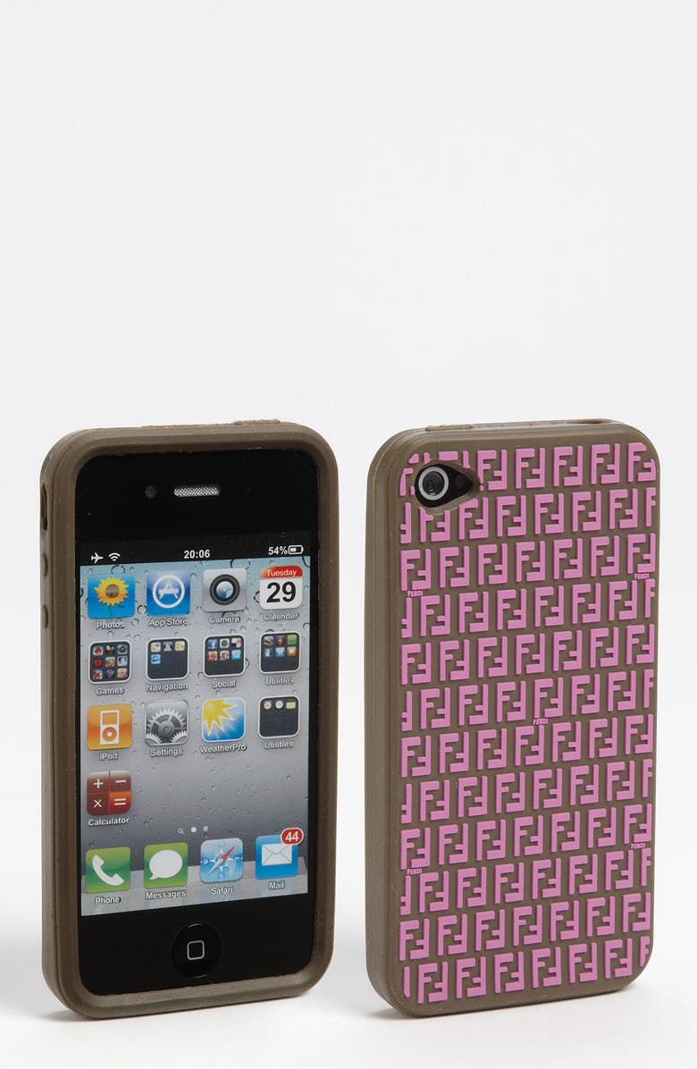 FENDI iPhone 4 & 4S Case, Main, color, 500