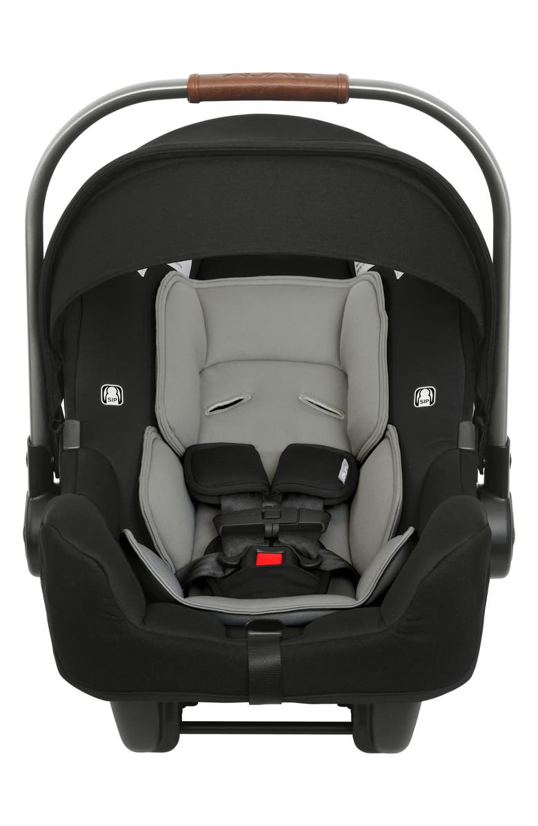 NUNA PIPA<sup>™</sup> Flame Retardant Free Car Seat & Base, Main, color, CAVIAR