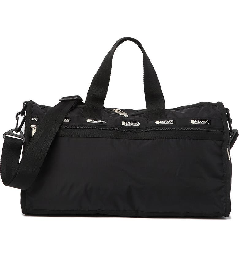 LESPORTSAC Candace Classic Weekend Duffle, Main, color, JET BLACK