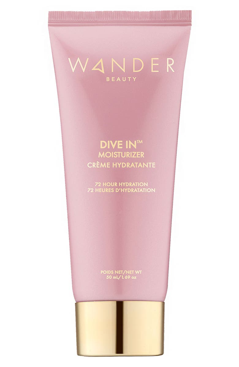 WANDER BEAUTY Dive In<sup>™</sup> Moisturizer, Main, color, NO COLOR
