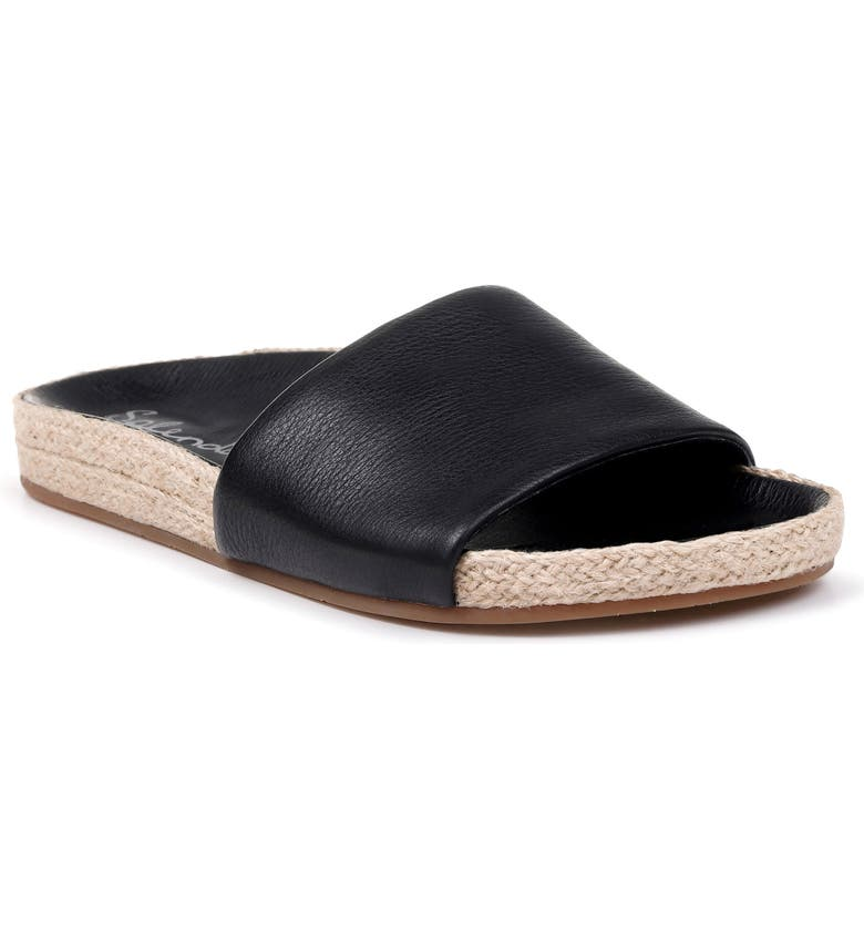 SPLENDID Sandford Espadrille Slide Sandal, Main, color, 002