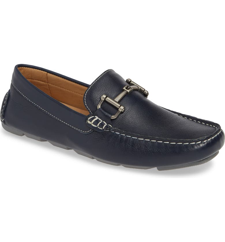 1901 Hermosa Driving Moccasin, Main, color, NAVY LEATHER