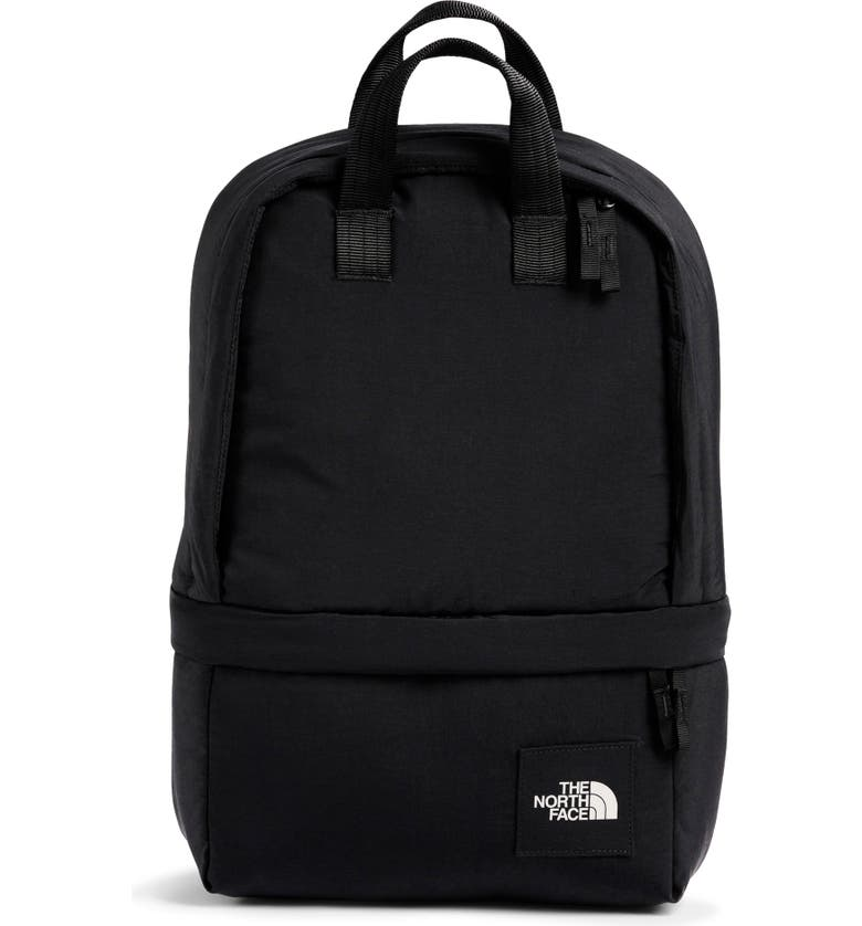 THE NORTH FACE City Voyager Daypack Water Repellent Backpack, Main, color, TNF BLACK
