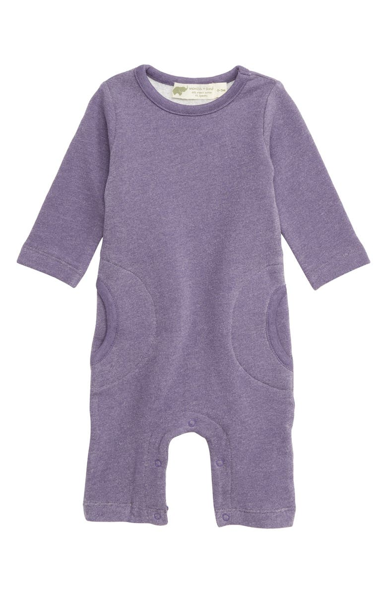 MONICA + ANDY Slouch Romper, Main, color, 500