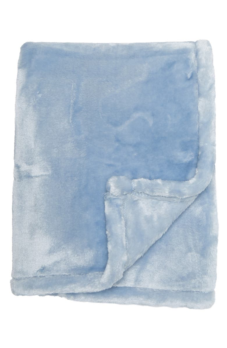 NORTHPOINT TRADING Mon Lapin Baby Blanket, Main, color, POWDER