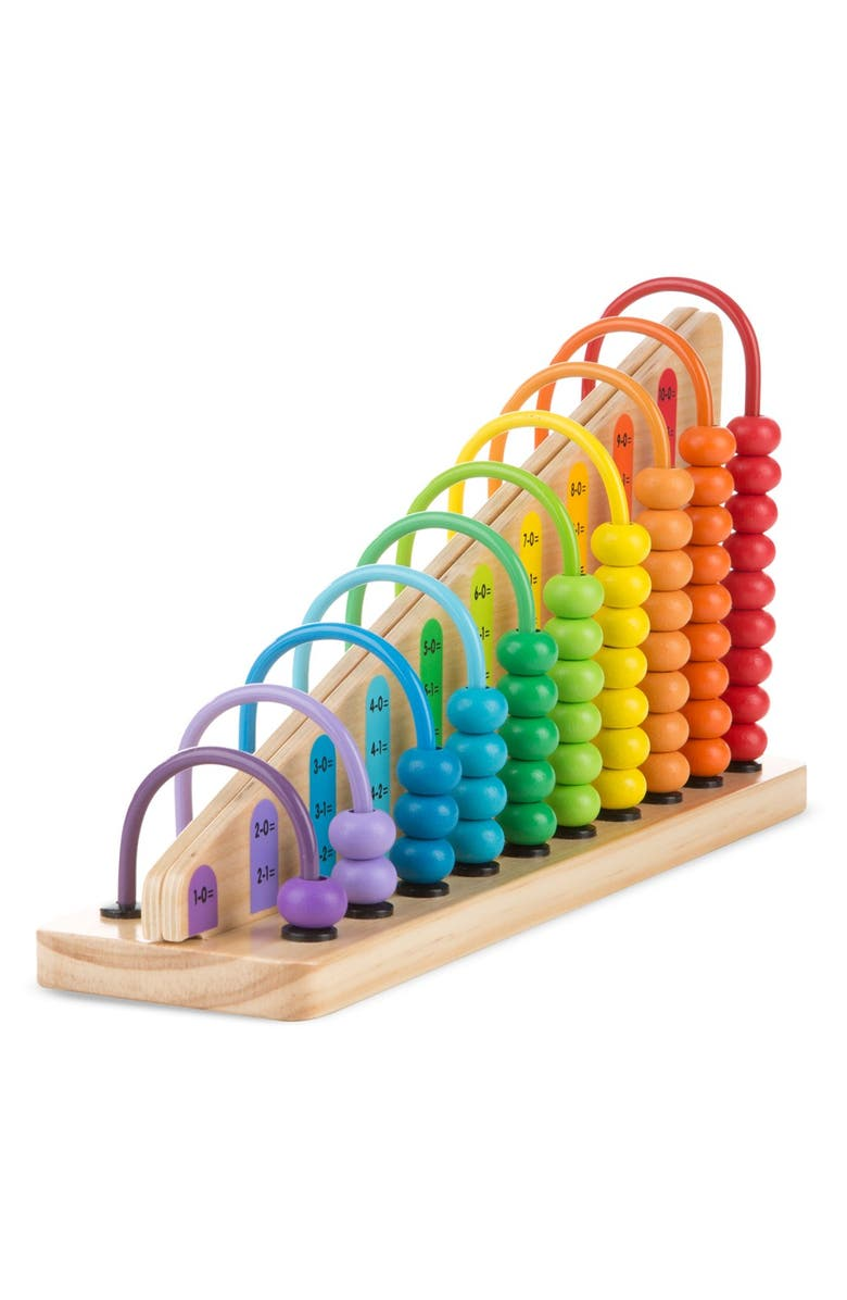 MELISSA & DOUG Add and Subtract Abacus, Main, color, 200